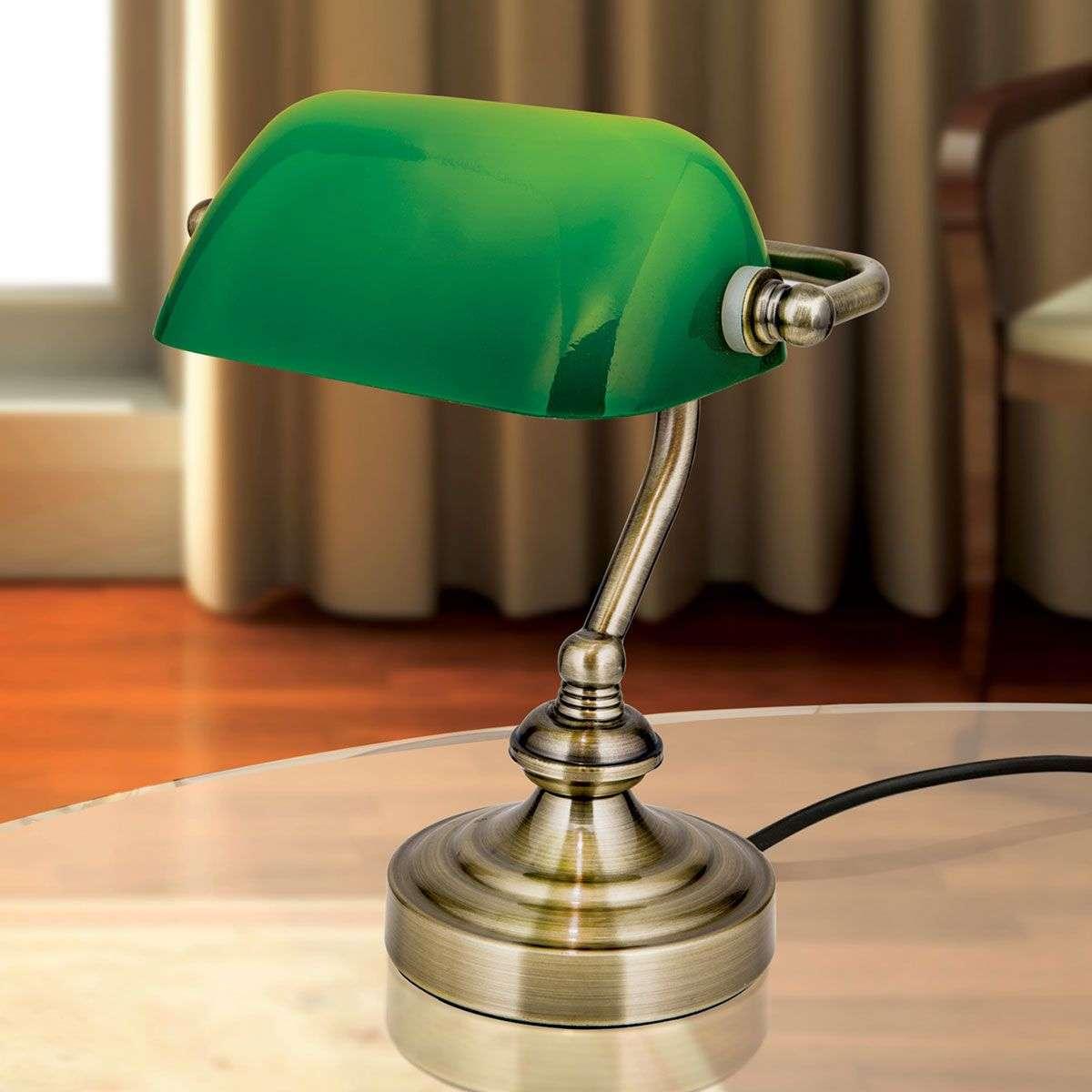 Zora bankers table lamp green glass lampshade lights zora bankers table lamp green glass lampshade 7255360 31 mozeypictures Gallery