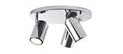 Chrome/Stainless Steel/Nickel Ceiling Lights