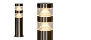 Stainless Steel Pillar Lights