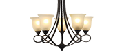 Chandeliers Country/Rustic